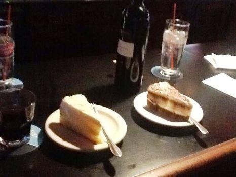 tiramisu and lemon cake