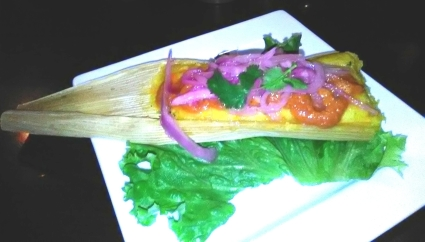 The vegetarian tamale at Havana Rumba may or may not be vegan.