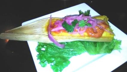 The vegetarian tamale at Havana Rumba may or may not be vegan.