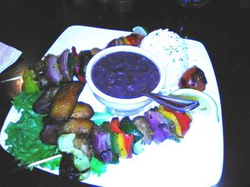 Havana Rumba has great vegan food even if that is not the entire focus